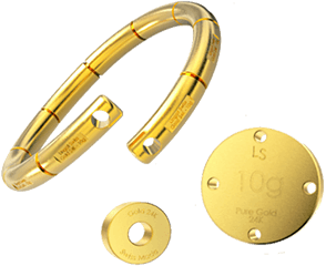 Our standard 24K gold jewelery - 5g / 10g and 100g